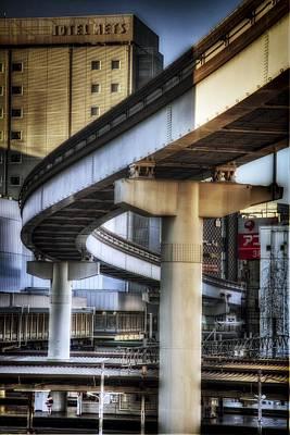 Tachikawa Monorail I Art Print by Rscpics