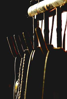Jerry Sodorff Royalty-Free and Rights-Managed Images - Tack Rack 14548 by Jerry Sodorff