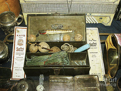 Photograph - Tackle Box by Tom Brickhouse
