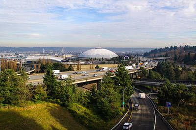 Photograph - Tacoma Dome And Auto Museum by Tikvah's Hope