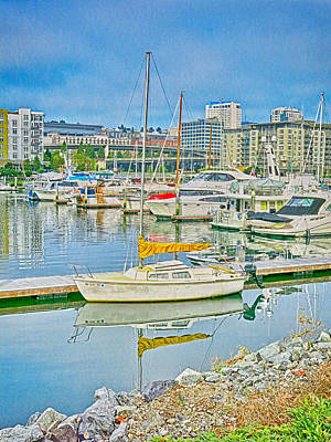 Photograph - Tacoma Marina by Ron Roberts
