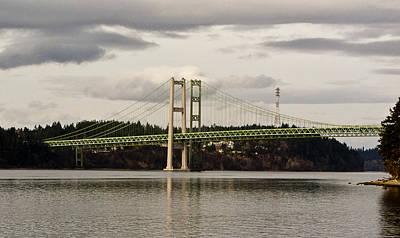 Tacoma Narrows Bridge II Art Print by Ron Roberts