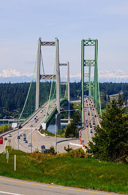 Photograph - Tacoma Narrows Bridge by Tikvah's Hope