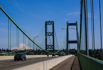 Photograph - Tacoma Narrows View Of Rainier by Tikvah's Hope