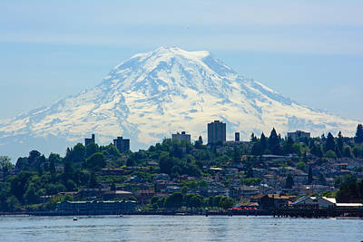 Photograph - Tacoma Rainier by Tikvah's Hope