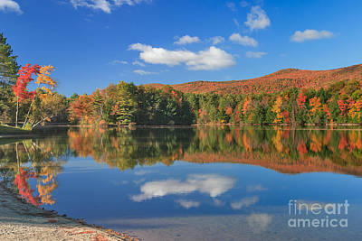 Photograph - Taconic Reflections by Charles Kozierok