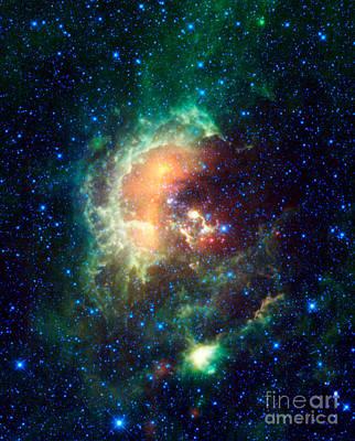 Tadpole Nebula Art Print