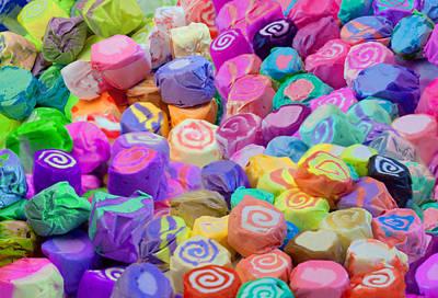 Alixandra Mullins Digital Art - Taffy Candyland by Alixandra Mullins