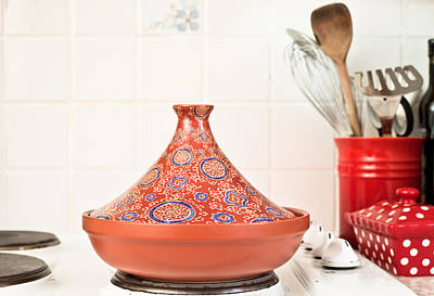 Moroccan Photograph - Tagine by Tom Gowanlock