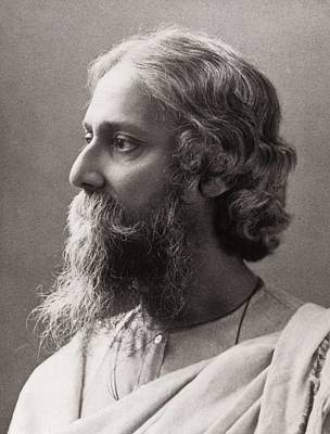 Photograph - Tagore, Rabindranath 1861-1941. � by Everett