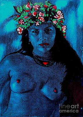 Painting - Tahitan Night by Roberto Prusso