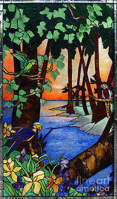 Tahiti Window Art Print by Peter Piatt