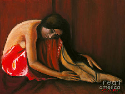 Painting - Tahiti Woman Art Print by William Cain