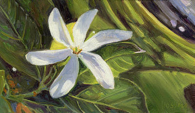 Haleiwa Painting - Tahitian Ginger by Stacy Vosberg