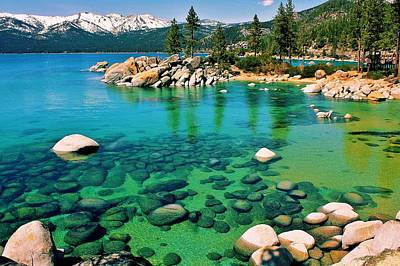 Tahoe Bliss Art Print by Benjamin Yeager