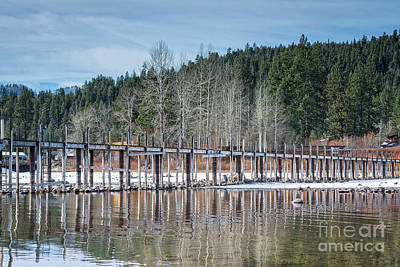 Lake Tahoe Photograph - Tahoe City Pier by Dianne Phelps