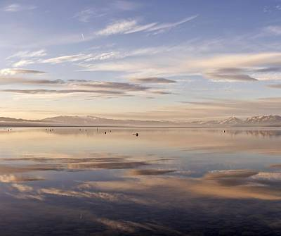 Photograph - Tahoe March Morning Larry Darnell by Larry Darnell