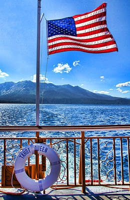 Photograph - Tahoe Queen Lake Tahoe By Diana Sainz by Diana Raquel Sainz