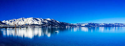 Art Print featuring the photograph Tahoe Reflection by Mike Lee