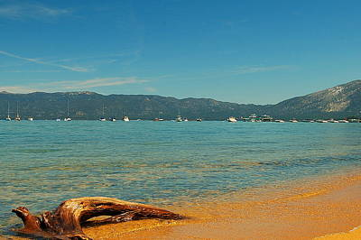 Photograph - Tahoe Shores by Tamyra Crossley