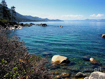 Photograph - Tahoe by Tom Griffithe