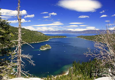 Photograph - Tahoe's Emerald Bay by Patrick Witz
