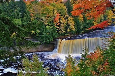 Photograph - Tahquamenon Falls by Burland McCormick