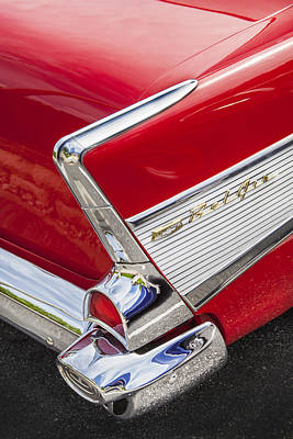 Photograph - Tail Fins Are In 1957 Chevy by Rich Franco
