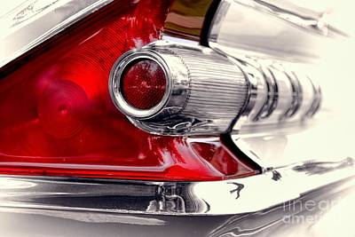 Photograph - Taillight 1959 Mercury Monterey by Henry Kowalski
