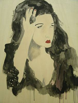 Painting - Tairrie by Samantha L