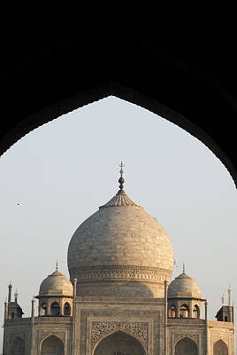 Taj And Arch Art Print by Rajiv Chopra