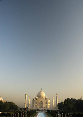 Photograph - Taj And Morning Sky by Rajiv Chopra