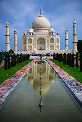 Taj Mahal - India Art Print by Matthew Onheiber