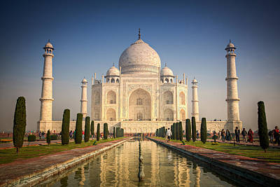 Photograph - Taj Mahal 1 by Brad Grove