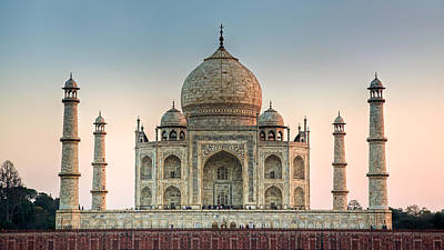 Photograph - Taj Mahal 2 by Brad Grove