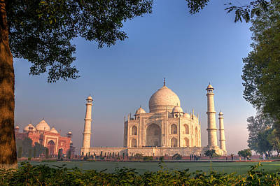 Photograph - Taj Mahal 3 by Brad Grove