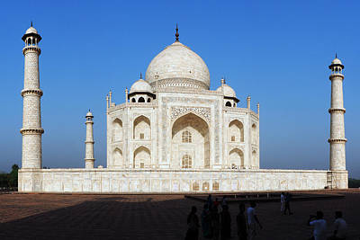Photograph - Taj Mahal 5 by C H Apperson