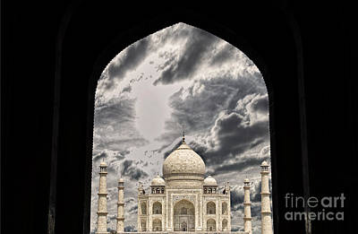 Taj Mahal -a Monument Of Love Art Print by Vineesh Edakkara