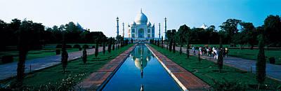 Tomb Photograph - Taj Mahal Agra India by Panoramic Images