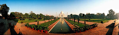 Minarets Photograph - Taj Mahal, Agra, Uttar Pradesh, India by Panoramic Images