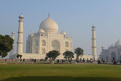 Taj Mahal Art Print by Brandon Bourdages