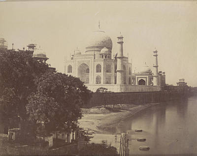 Subcontinent Photograph - Taj Mahal by British Library