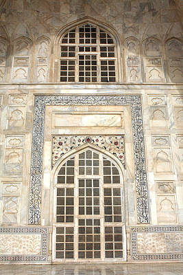 Photograph - Taj Mahal Facade - Agra - India by Aidan Moran