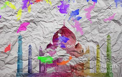 Taj Mahal Print by Image World