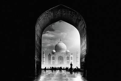 India Religion Photograph - Taj Mahal by Hussain Buhligaha