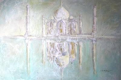Painting - Taj Mahal - Hymn To Love by Cristina Stefan