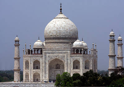 Photograph - Taj Mahal - Agra - India  by Aidan Moran