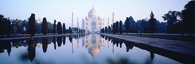 Mosque Photograph - Taj Mahal India by Panoramic Images