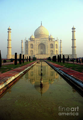 Art Print featuring the photograph Taj Mahal by Jacqi Elmslie