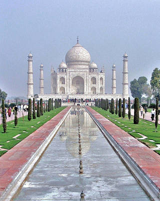 Photograph - Taj Mahal by Kim Bemis